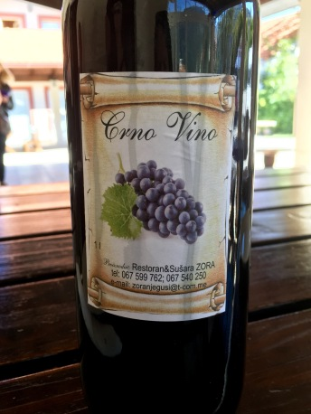 Making wine at Njegusi - Real Food Adventure Macedonia and Montenegro