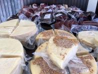 Cheese produced at Njegusi - Real Food Adventure Macedonia and Montenegro