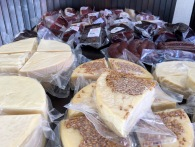 Cheese produced at Njegusi - Real Food Adventure Macedonia and Montenegro