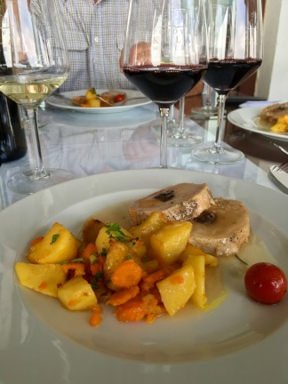 Lunch at Popova Kula Winery - Real Food Adventure Macedonia and Montenegro