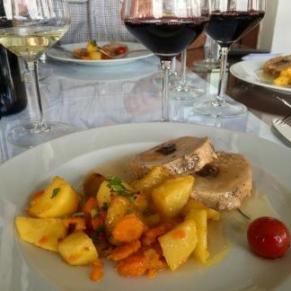Lunch at Popova Kula Winery - Real Food Adventure Macedonia and Montenegro