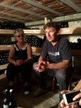 Talking wine with Pece Cvetkovski at Villa Dihovo - Real Food Adventure Macedonia and Montenegro
