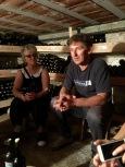 Talking wine with Pece Cvetkovski at Villa Dihovo - Real Food Adventure Macedonia and Montenegro