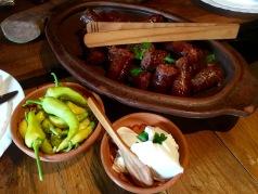 Lunch at Villa Dihovo - Real Food Adventure Macedonia and Montenegro