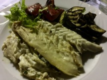 Last dinner on tour - Real Food Adventure Macedonia and Montenegro