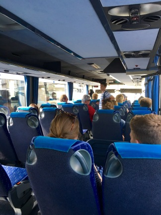 Public bus trip to Bled - Real Food Adventure Slovenia and Croatia