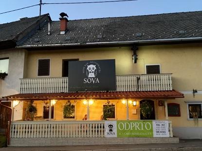 Lesce restaurant dinner - Real Food Adventure Slovenia and Croatia
