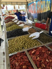 Piran market - Real Food Adventure Slovenia and Croatia