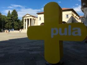 Roman Forum Pula - Real Food Adventure Slovenia and Croatia