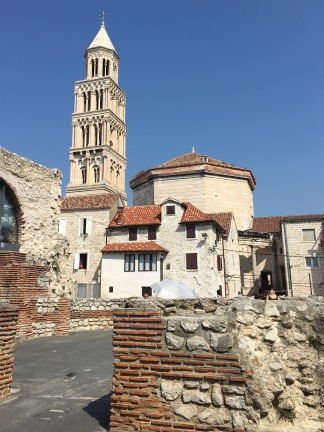 City tour of Split - Real Food Adventure Slovenia and Croatia