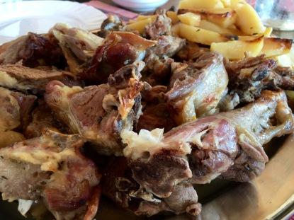 Pag Island peka lunch - Real Food Adventure Slovenia and Croatia