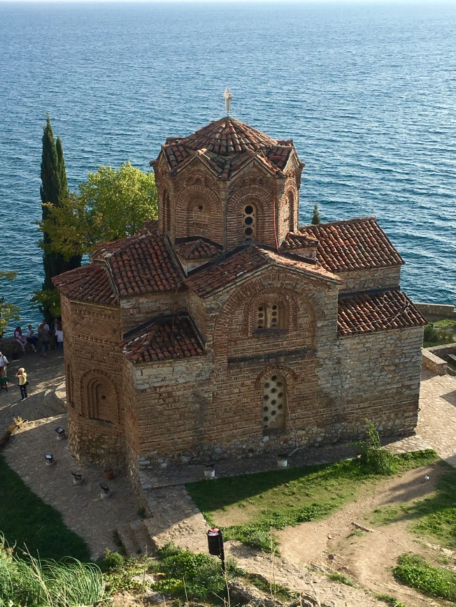 Church of St John at Kaneo, Ohrid - Real Food Adventure Montenegro and Macedonia