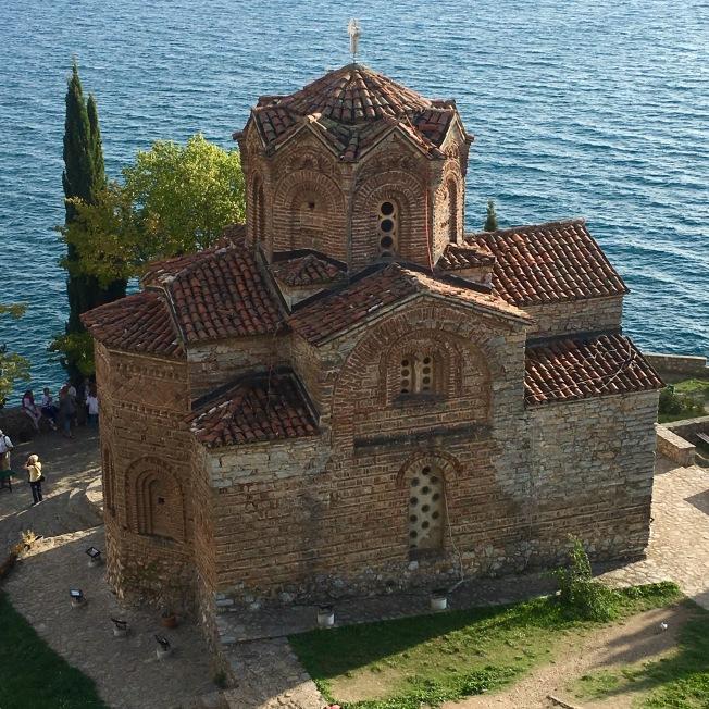 Church of St John at Kaneo, Ohrid - Real Food Adventure Montenegro and Macedonia