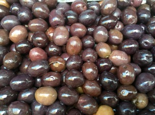 Olives from the Central Market in Athens