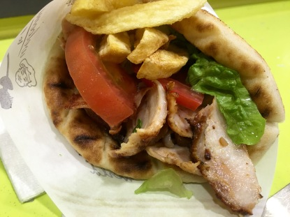 Gyro from the Plaka, Athens
