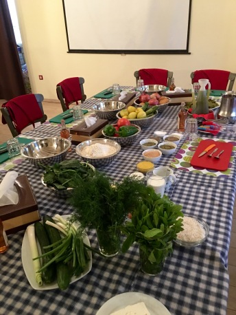 The kitchen table - Athens Cooking Lessons