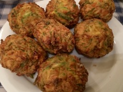 Freshly cooked zucchini balls - Athens Cooking Lessons
