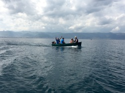 Boat trip across Lake Ohrid - Real Food Adventure Macedonia and Montenegro