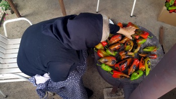 The tedious business of making ajvar - Real Food Adventure Macedonia and Montenegro