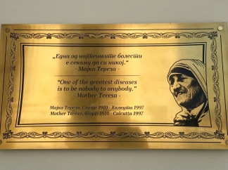 Quotes from Mother Teresa, Skopje - Real Food Adventure Macedonia and Montenegro