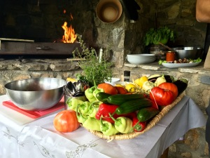 Lunch at Hotel Tutto - Real Food Adventure Macedonia and Montenegro