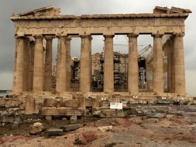 The Parthenon, Acropolis in Athens