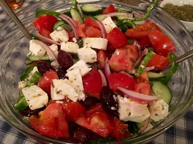 Horiatki (Traditional Greek Salad)