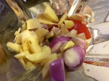 Turmeric Galangal King Prawns spice paste - Balinese 'Market Tour to Plate', Spice Bazaar